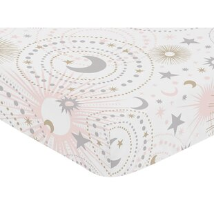 Searching for Celestial Fitted Crib Sheet BySweet Jojo Designs
