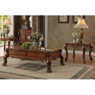 Astoria Grand Makenzie 2 Piece Coffee Table Set