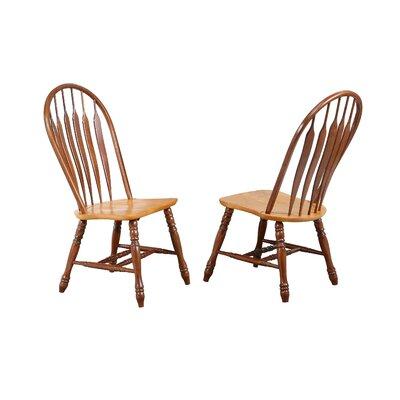 Jaida Comfort Back Dining Chair August Grove Color: Nutmeg / Rich Honey Light Oak