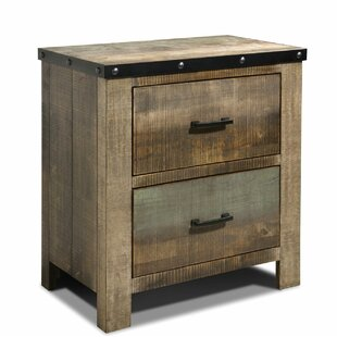Cecere 2 Drawers Nightstand by Highland Dunes