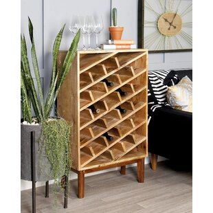 Wood 24 Bottle Floor Wine Bottle Rack by ..