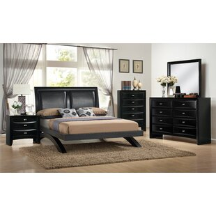 Plumwood 5 Piece Platform Bedroom Set by Red Barrel Studio