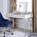 Lampkins Vanity Set with Mirror by Orren Ellis