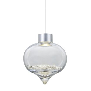 Besa Lighting Terra 1-Light Cord Globe Pendant