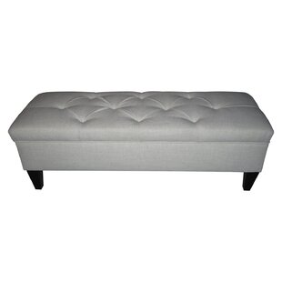 Three Posts Tusarora Upholstered Storage Bench