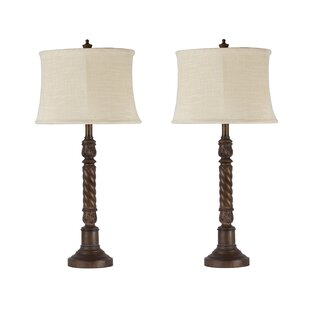 Covey 31'' Table Lamp (Set of 2) by Darby Home Co