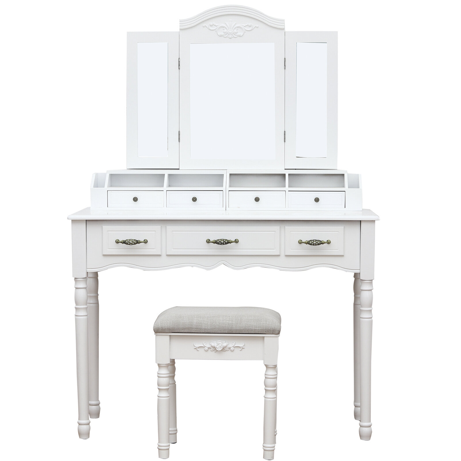 French Country Makeup Vanities You Ll Love In 2021 Wayfair