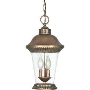 Caloundra 3-Light Outdoor Hanging Lantern
