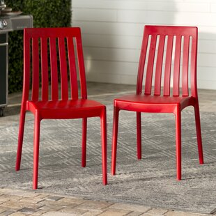 Mercury Row Dionysus Stacking Patio Dining Chair (Set of 2)