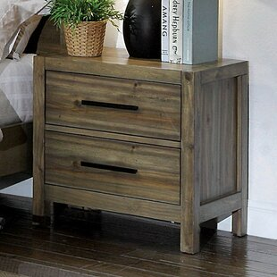 Glynda 2 Drawer Nightstand