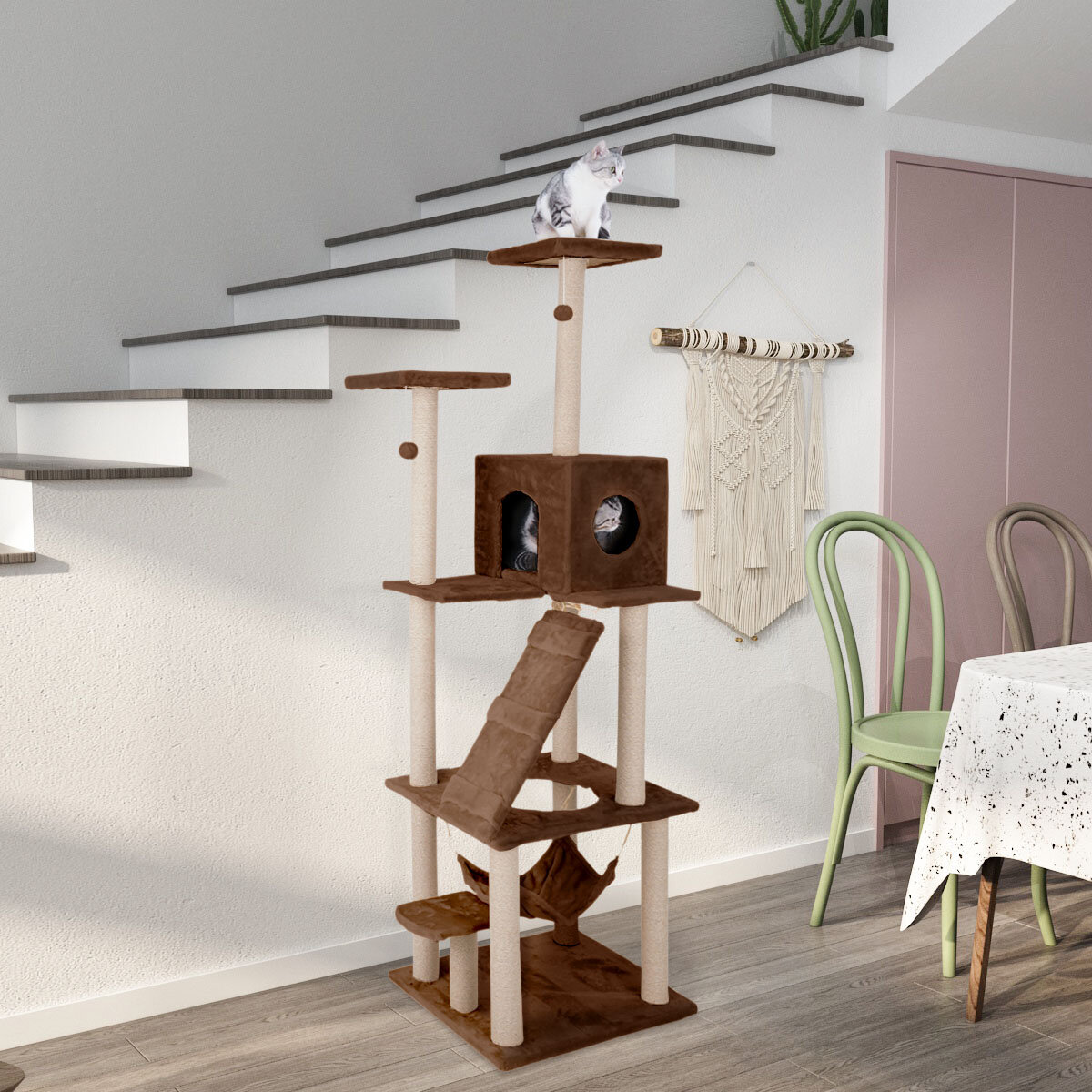 5 Level Hanging Cat Trees Condos You Ll Love In 2021 Wayfair