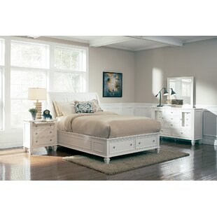 Shila Storage Panel Bed by DarHome Co Read Reviews