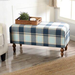 Gracie Oaks Framlingham Upholstered Storage Bench