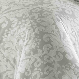 Tappahannock 100% Cotton 3 Piece Reversible Duvet Cover Set