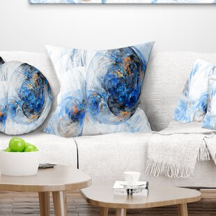 Abstract Colored Smoke Pillow