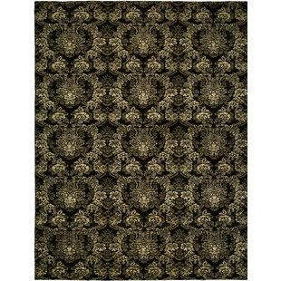 Hand-woven Black Area Rug ByWildon Home ®