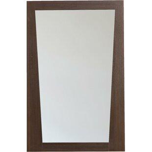Royal Purple Bath Kitchen Kao Rectangular Plywood-Melamine Wood Wall Mirror