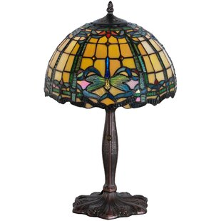 Dragonfly Trellis 19 Table Lamp