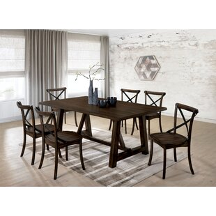 Raynor 7 Piece Solid Wood Dining Set