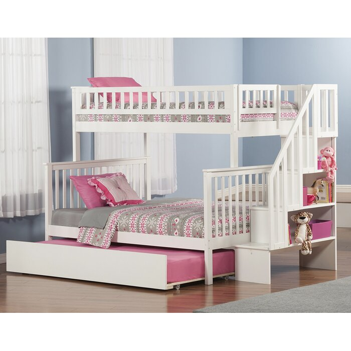 Viv Rae Shyann Twin Over Full Bunk Bed With Trundle Reviews