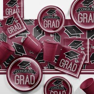 Graduation School Party Paper/Plastic Supplies Kit
