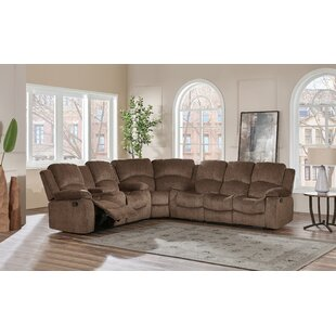 Knizair Reclining Sectional by Red Barrel..