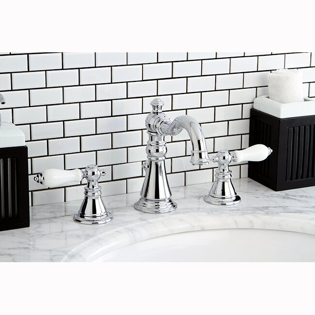 American Patriot Widespread Bathroom Faucet