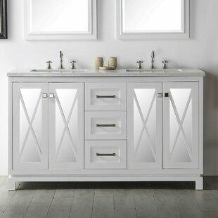 Find Sandie 60 Double Vanity Set ByGracie Oaks