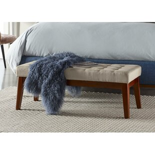 Elle Decor Claire Tufted Upholstered Bench