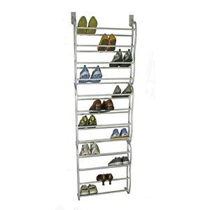 Savings 36 Pair Over the Door Shoe Rack ByRichards Homewares