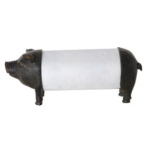 Wadkins Pig Paper Towel Holder by Gracie Oaks Cheap