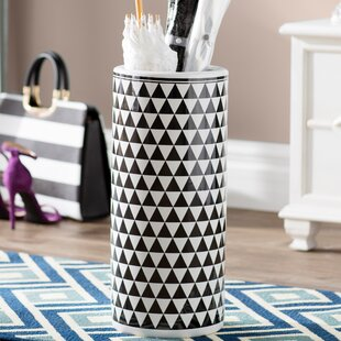 Willa Arlo Interiors Amar Contemporary Ceramic Umbrella Stand