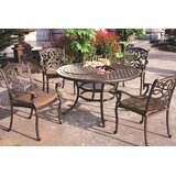 Calhoun 5 Piece Dining Set with Cushions