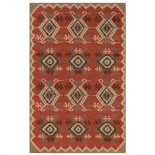 Tayler Red Indoor/Outdoor Area Rug