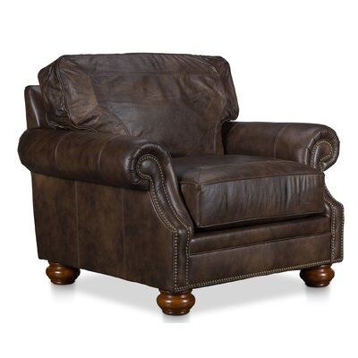Farmhouse Amp Rustic Leather Accent Chairs Birch Lane