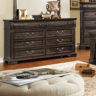 Mable 8 Drawer Double Dresser
