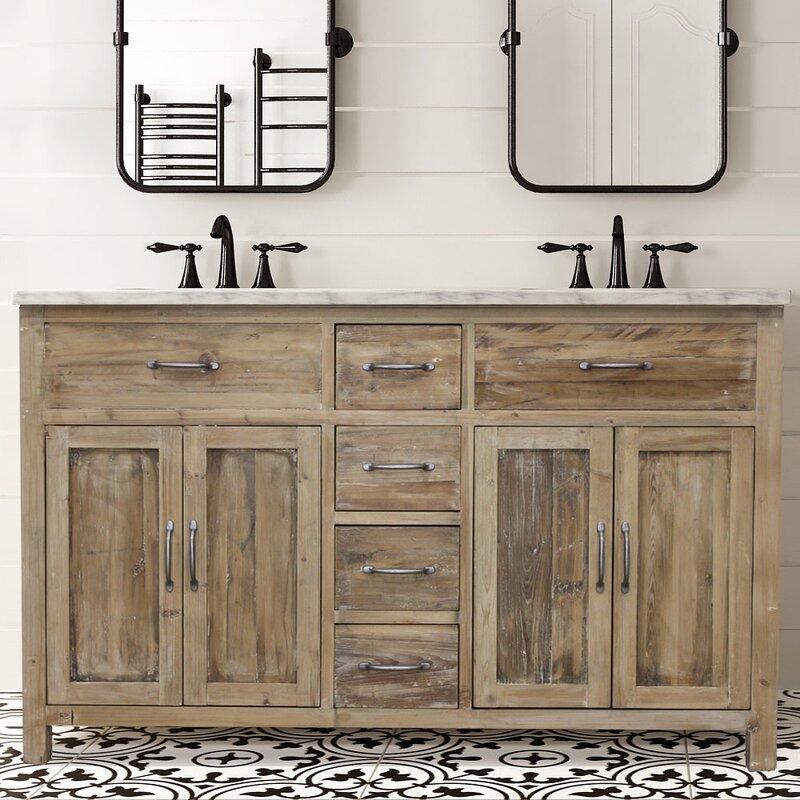 Foundry Select Shumway 72 Double Bathroom Vanity Set Wayfair