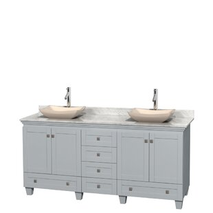 Acclaim 72 Double Bathroom Vanity by Wyndham Collection
