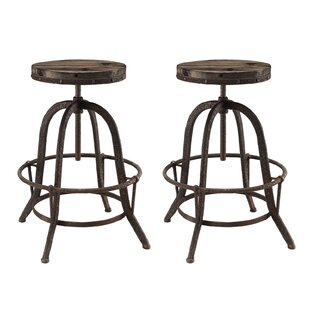 Modway Collect Adjustable Height Swivel Bar Stool (Set of 2)