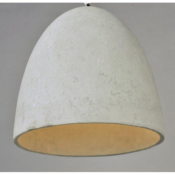 Giselle 1 Light Single Bell Pendant Reviews Allmodern