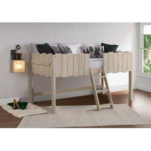 Coelho Picket Fence Twin Loft Bed by