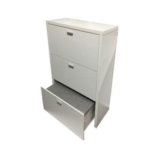 12 Pair Shoe Storage Cabinet By Mercury Row