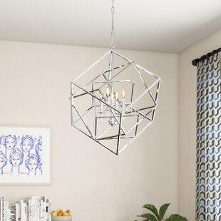 Ellenboro 4-Light Chandelier by Brayden Studio