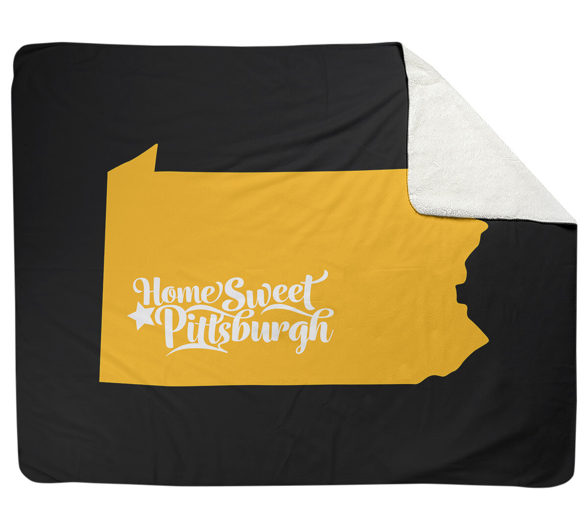 East Urban Home Pittsburgh Sports Fleece Throw Wayfair