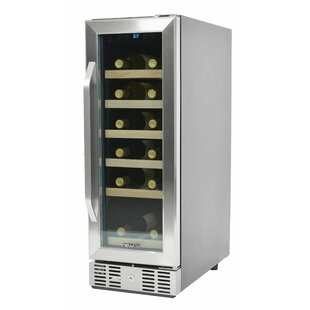 19 Bottle Single Zone Built-In Wine Cooler
