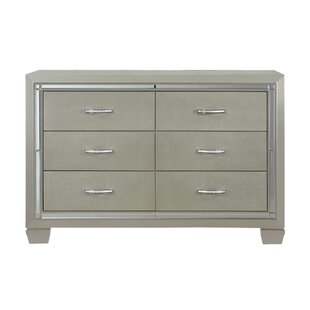 Rocky 6 Drawer Double Dresser