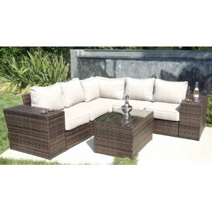 Simmerman 8 Piece Sectional Set With Cushions by Brayden Studio Great price