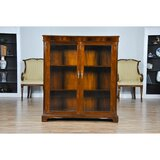 Mahogany Two Door Bookcase by Niagara