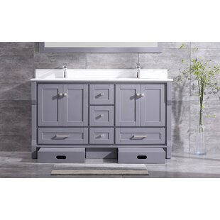 Swatzell 72 Double Bathroom Vanity Set by Winston Porter