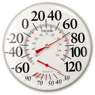 Thermometer And Hygrometer (Set Of 5) By Taylor